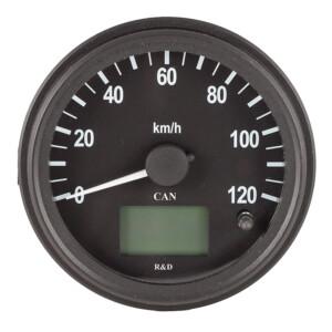 Спидометр CAN 100мм-12/24В